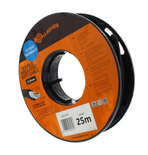 Gallagher double insulated cable